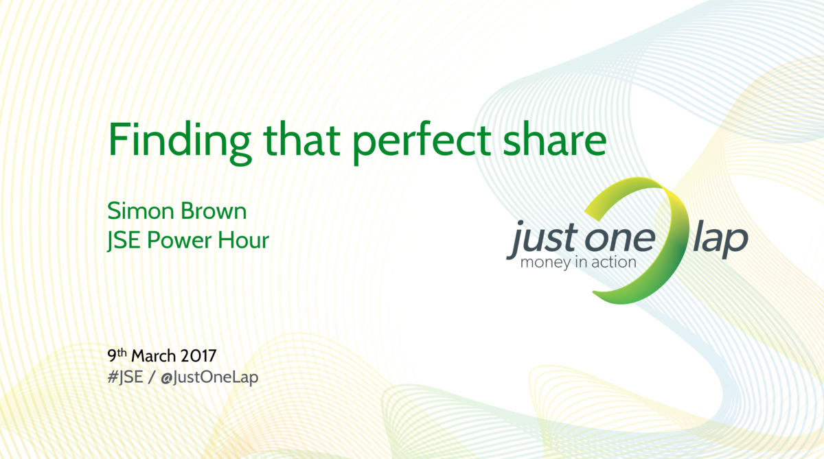Finding that perfect share