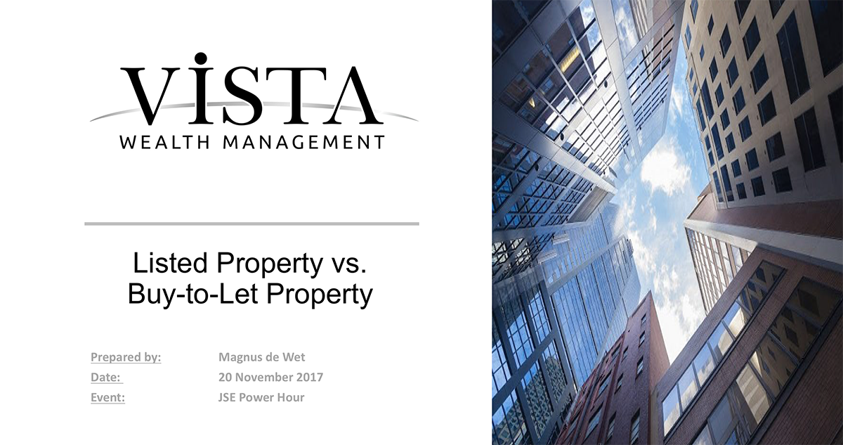 Buy-to-let vs. listed property
