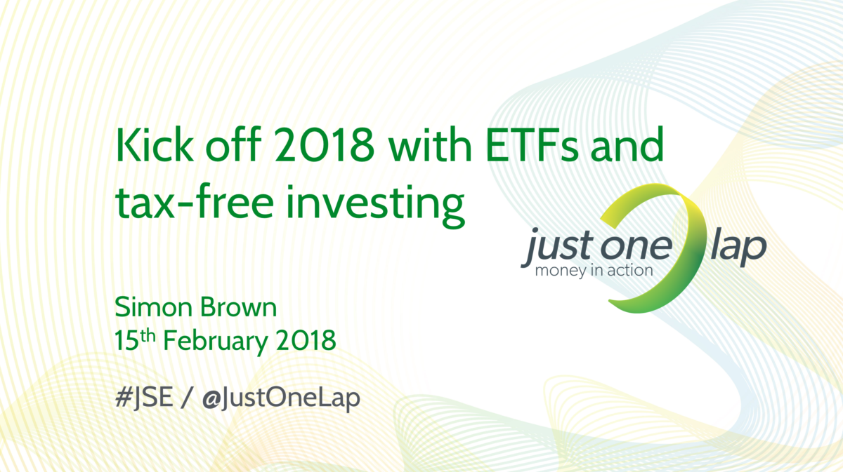 JSE Power Hour: Kick off 2018 with ETFs and tax-free investing