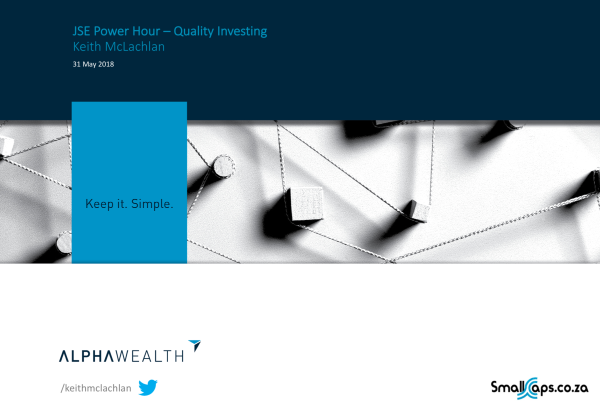 JSE Power Hour – Quality Investing
