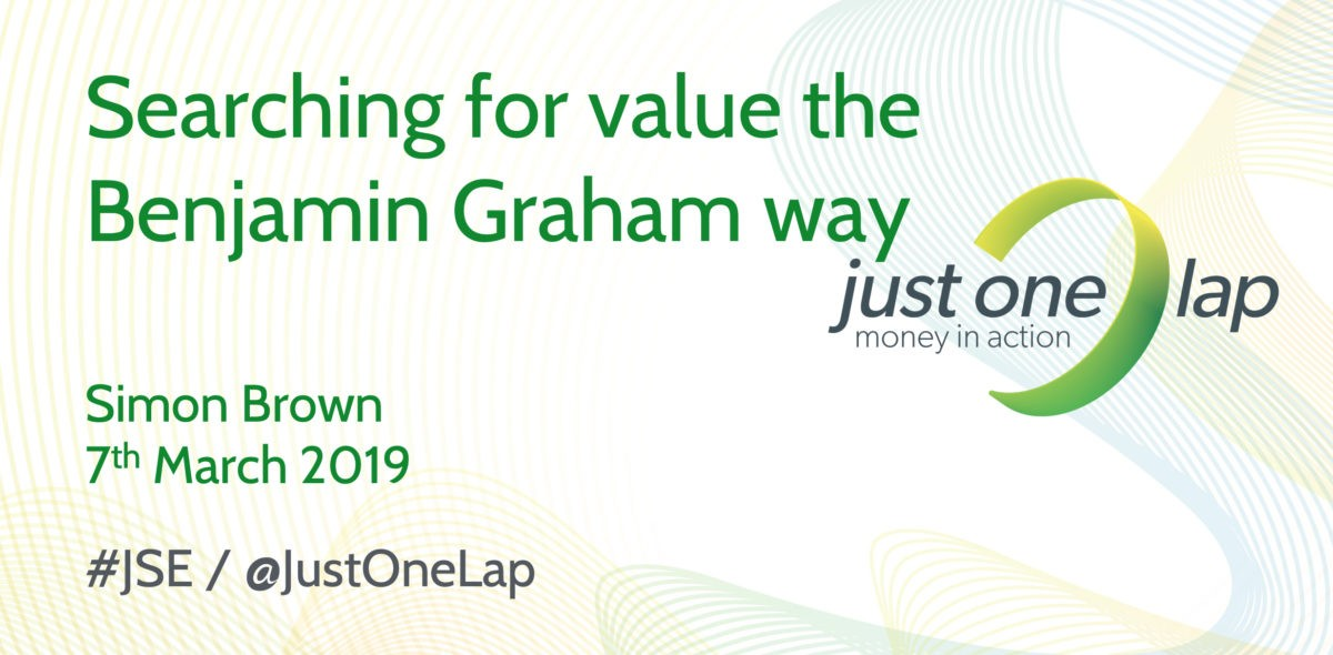 Searching for value the Benjamin Graham way