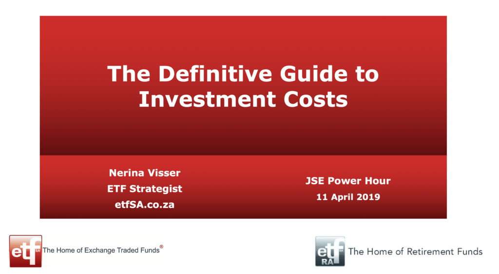 Definitive Guide to Investment Costs