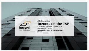 Income on the JSE presentation by Keith McLachlan